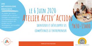 Atelier Activ'Action spécial Entrepreneuriat | Michel Simond ANNULE