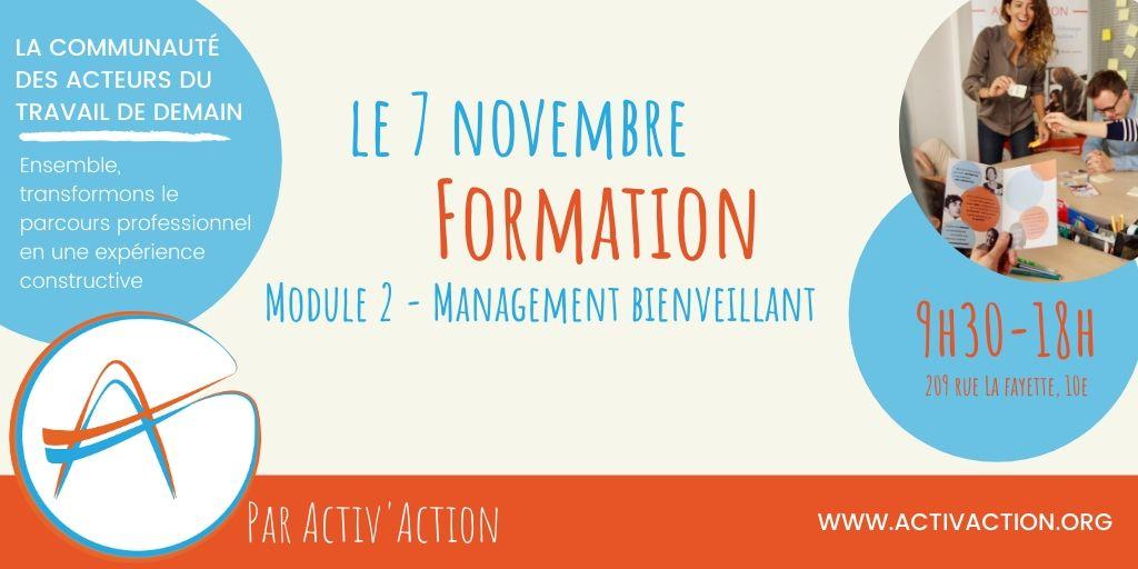 Formation - Management bienveillant @Paris10 (9h30-17h)