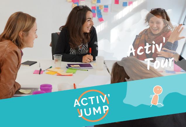 Activ'Jump 🏠 Paris (12h45-16h)