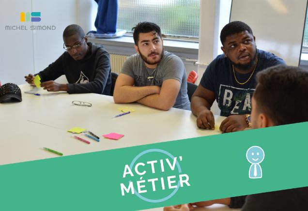 Atelier Activ'Action spécial Entrepreneuriat | Michel Simond EN PRESENTIEL