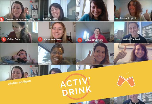 Activ'Drink Dépasser ses peurs @DRULINGEN (13h30-15h30) Maison France Services